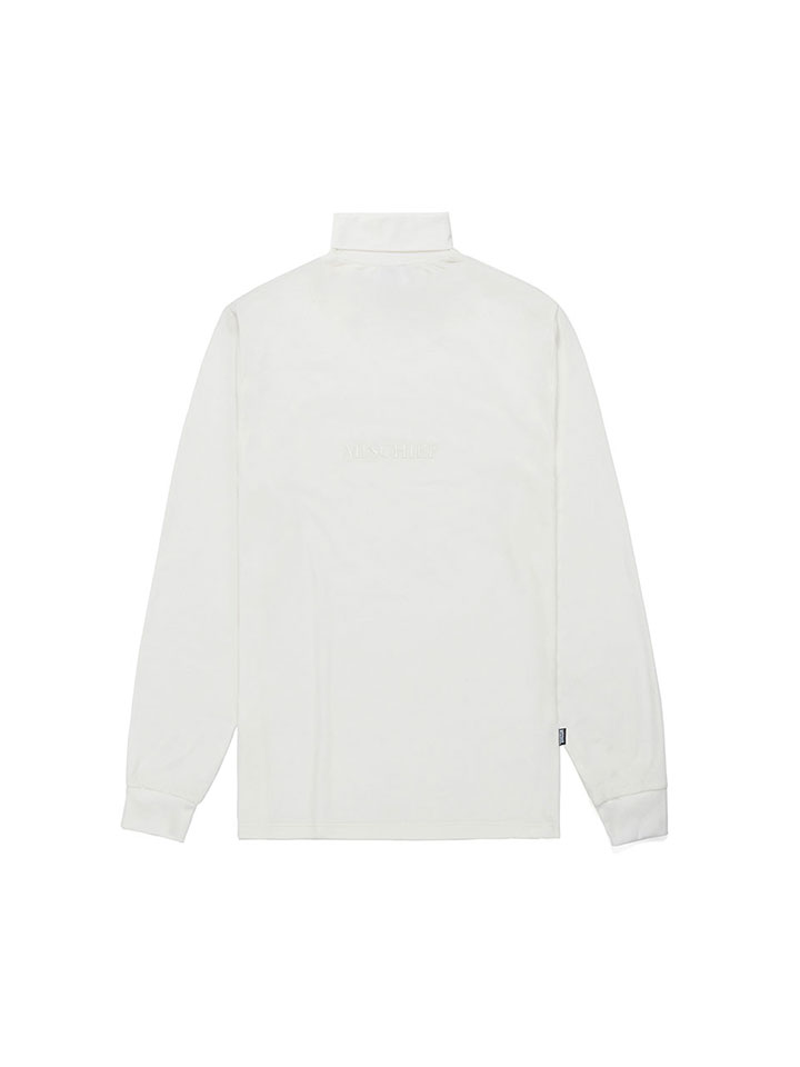 TURTLENECK LONG SLEEVE_white