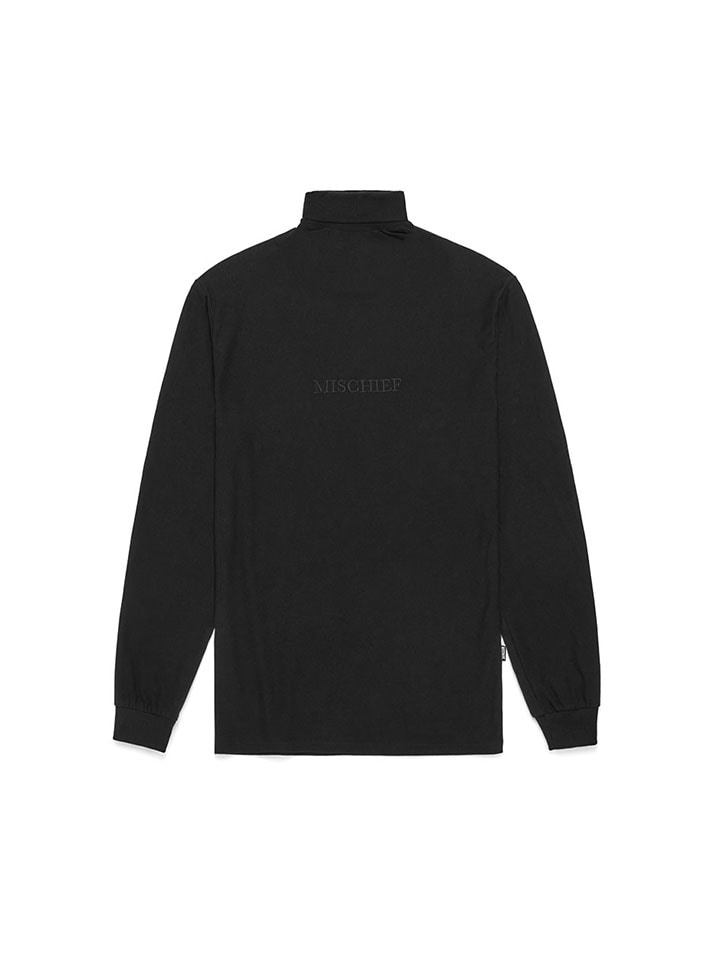 TURTLENECK LONG SLEEVE_black