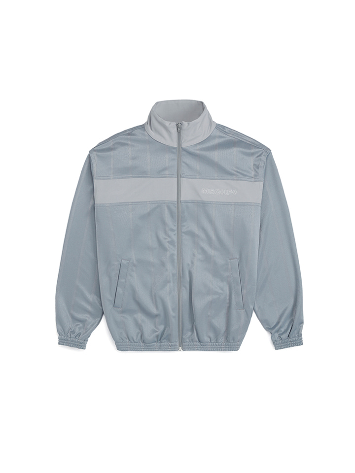 STRIPE TRACK JACKET_gray