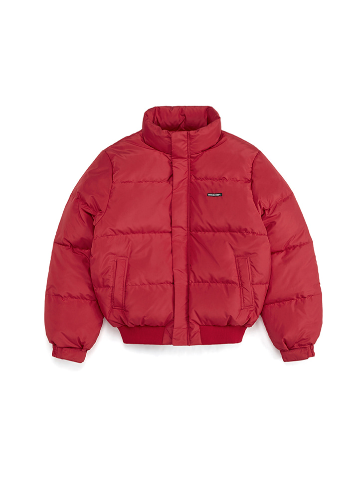 DOWN PUFFER JACKET_red