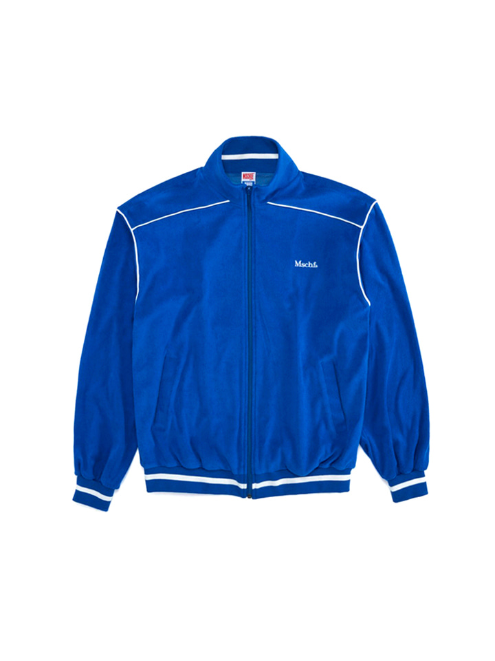 TERRY TRACK JACKET_blue
