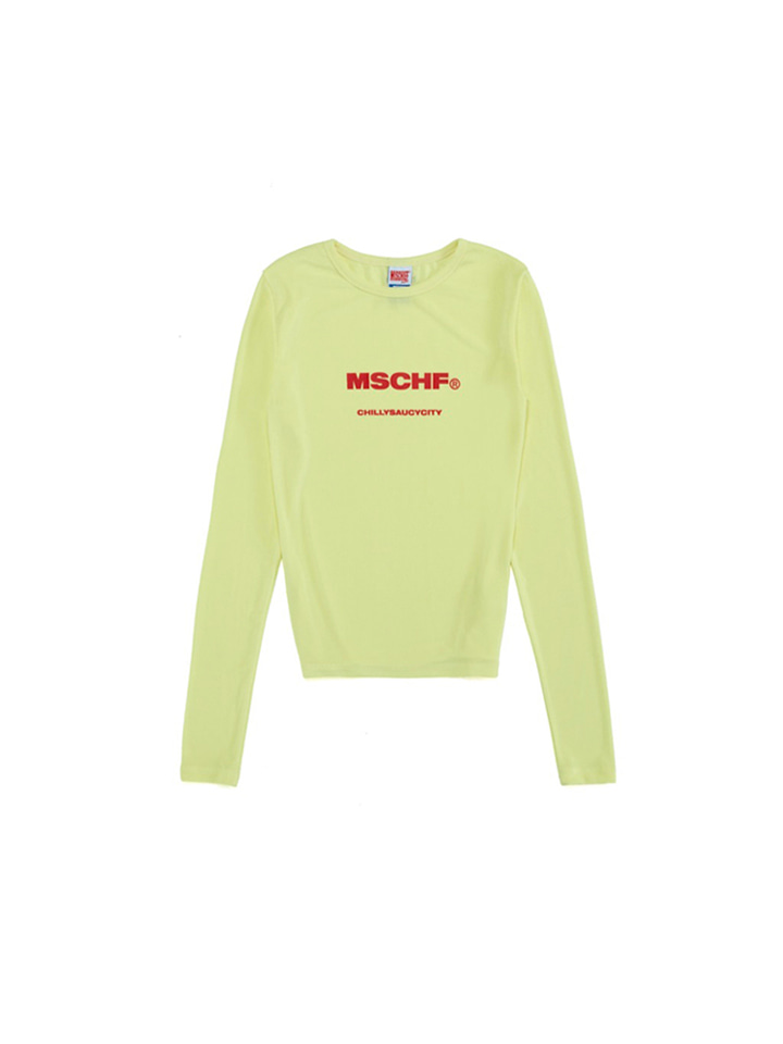 CSC LONG SLEEVE_lime