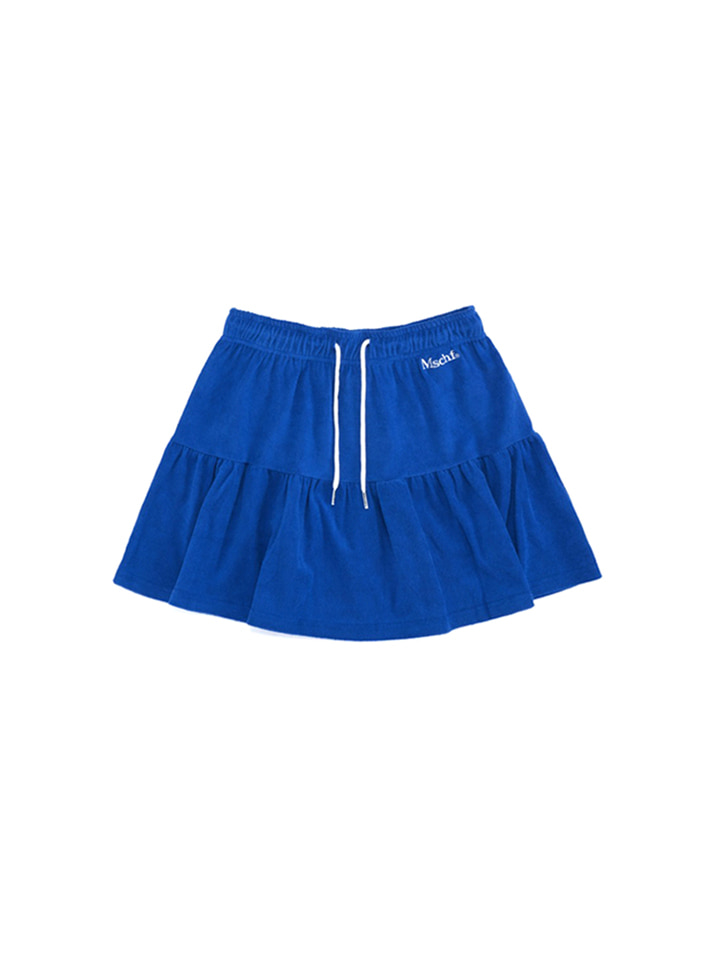 TERRY TRACK SKIRT_blue