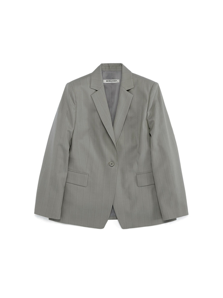 MOD SUIT JACKET_khaki gray