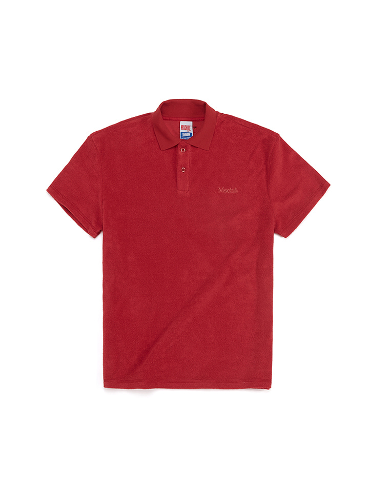TERRY POLO_red