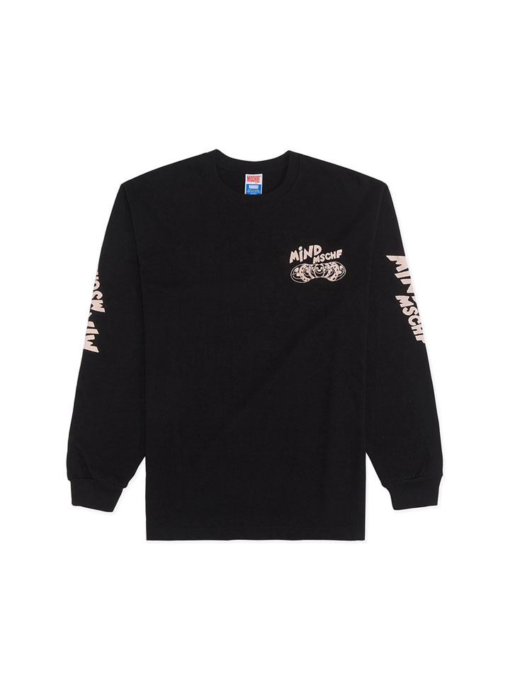 OHAMKING X MSCHF_MIND MSCHF LONG SLEEVE_black