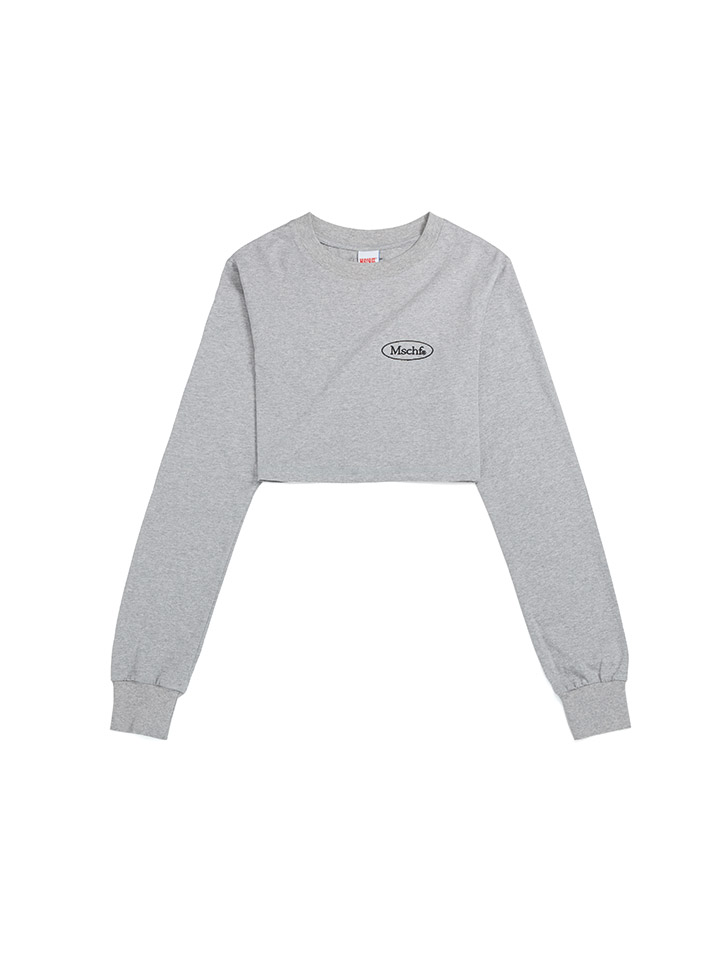 CROPPED PULLOVER_gray