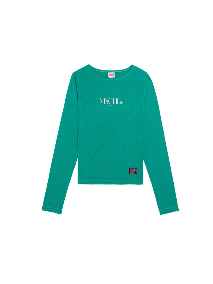 FITTED LONG SLEEVE_blue green