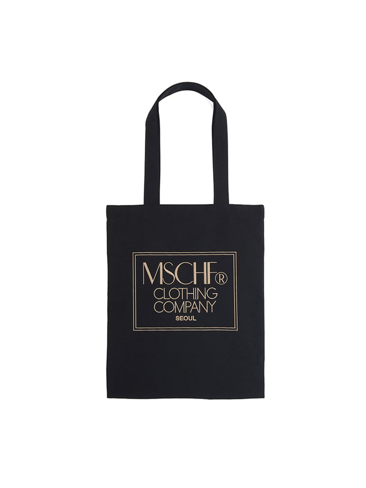 NYLON TOTE BAG_black