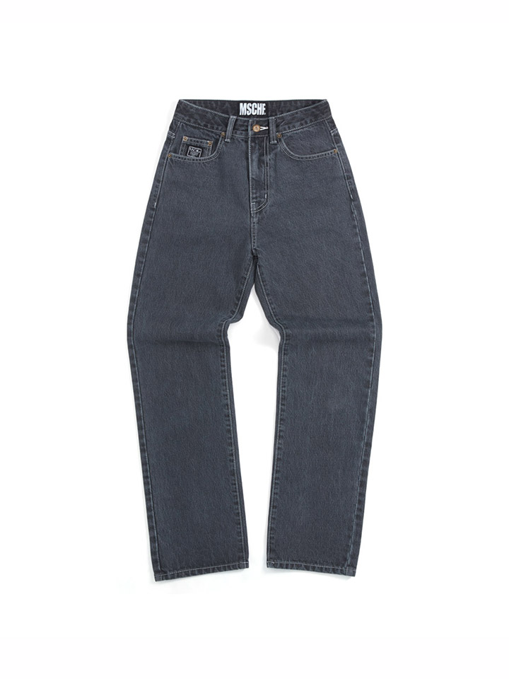 HIGH WAISTED DENIM_gray