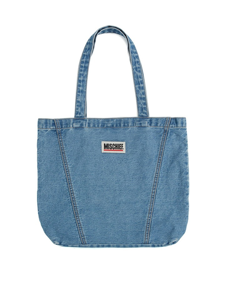 DENIM TOTE BAG_blue