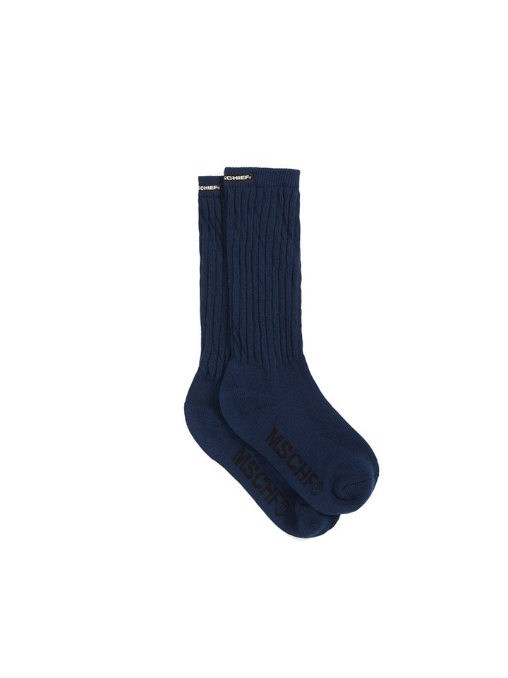 MIDDLE TUBE SOCKS_blue
