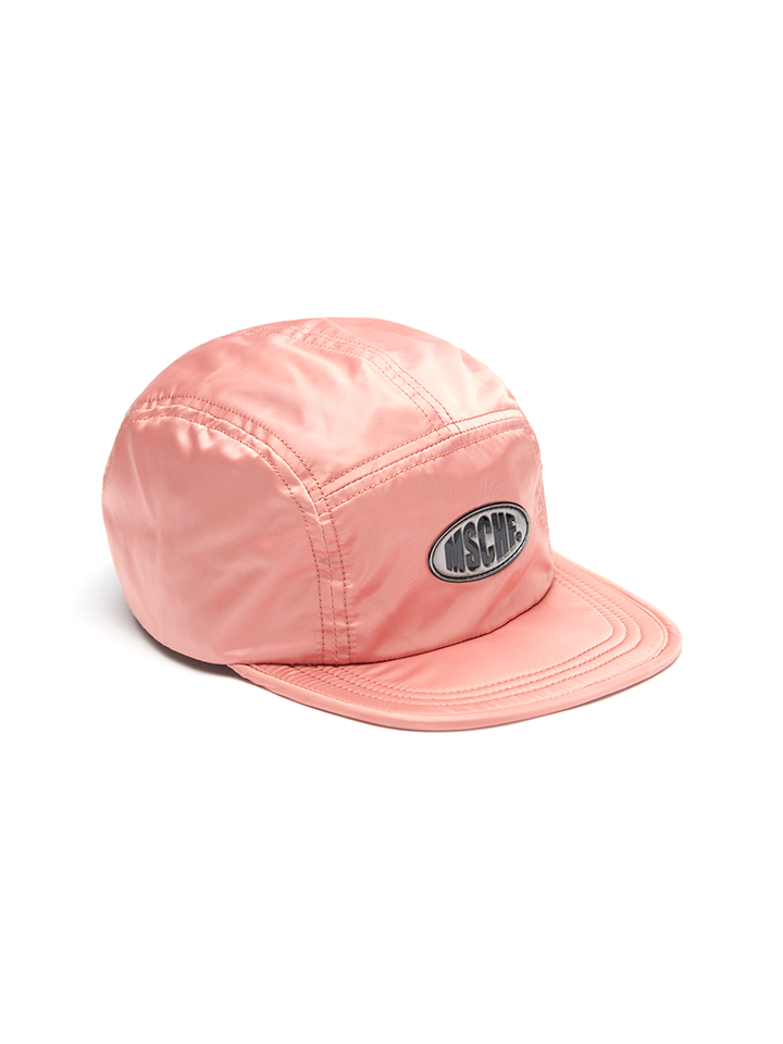 SCATCH OVAL CAMPCAP_pink