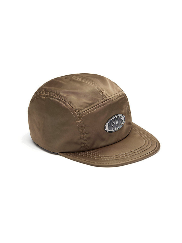SCATCH OVAL CAMPCAP_khaki