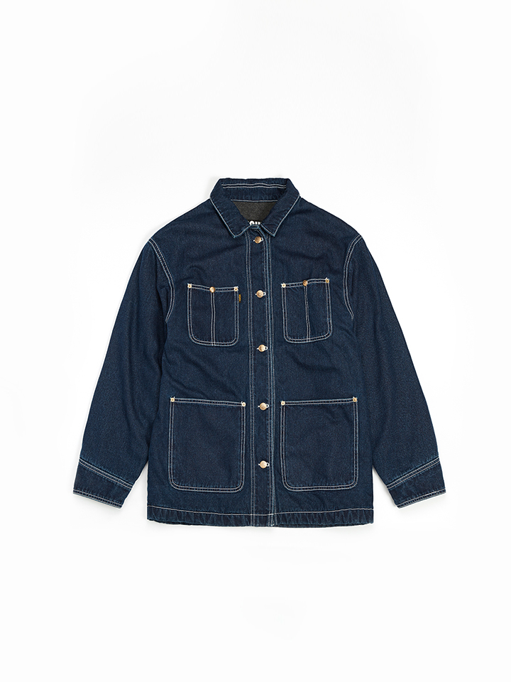 DENIM WORK JACKET_blue