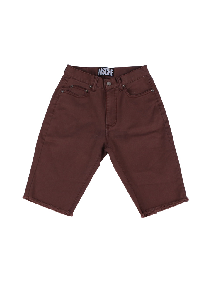 KNEE LENGTH DENIM_brown