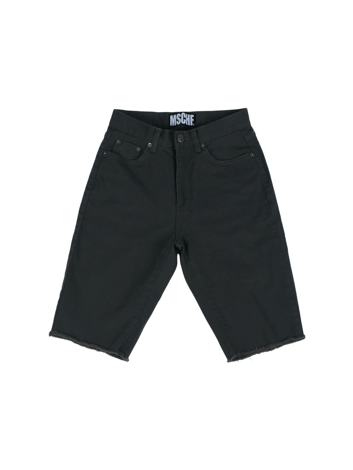 KNEE LENGTH DENIM_charcoal