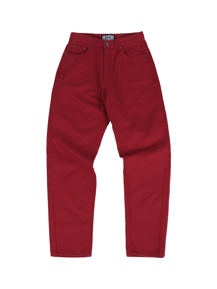 HIGH WAISTED JEAN_red