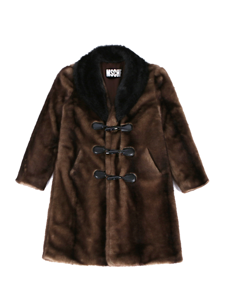 MOUNTAIN FAUX FUR COAT