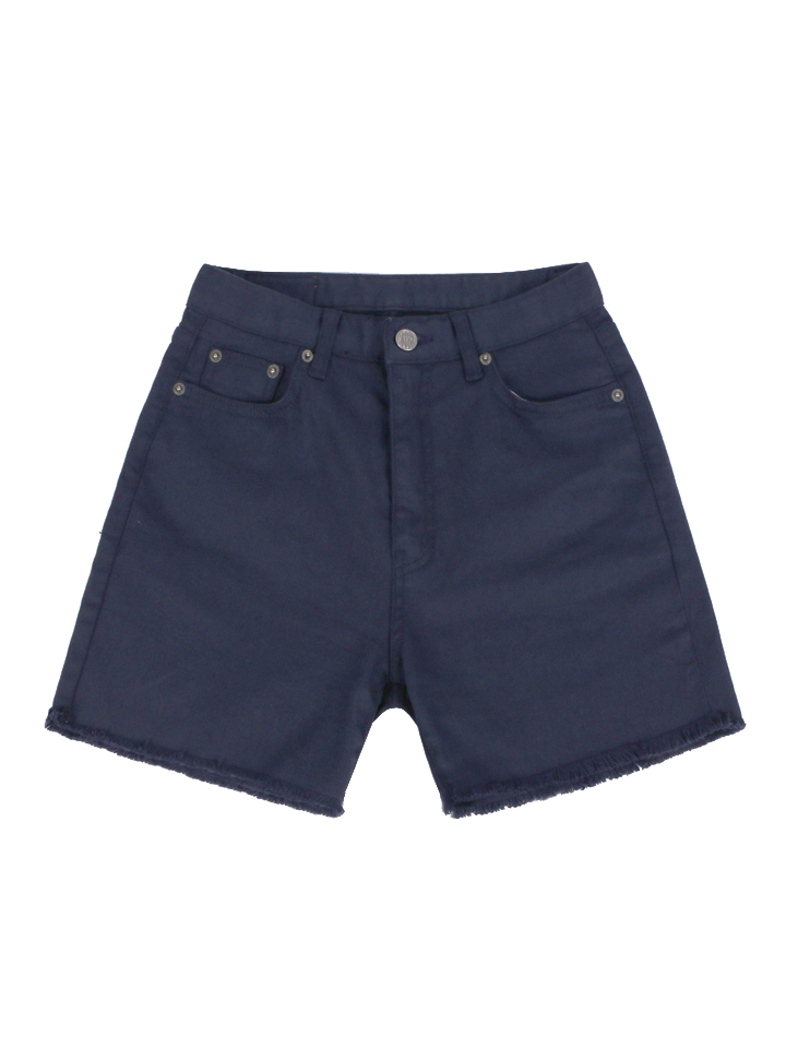 HIGH WAISTED BERMUDA_navy