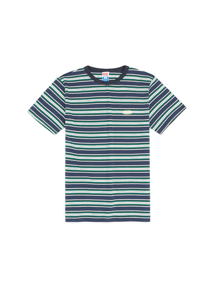 BASIC STRIPE_navy/white