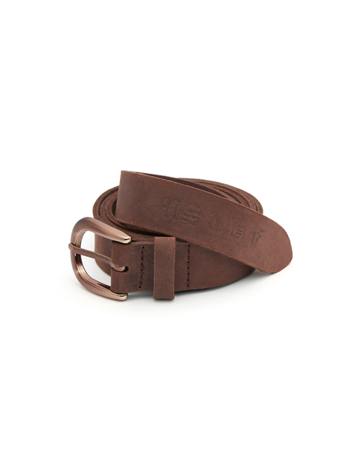 LEATHER BELT_brown