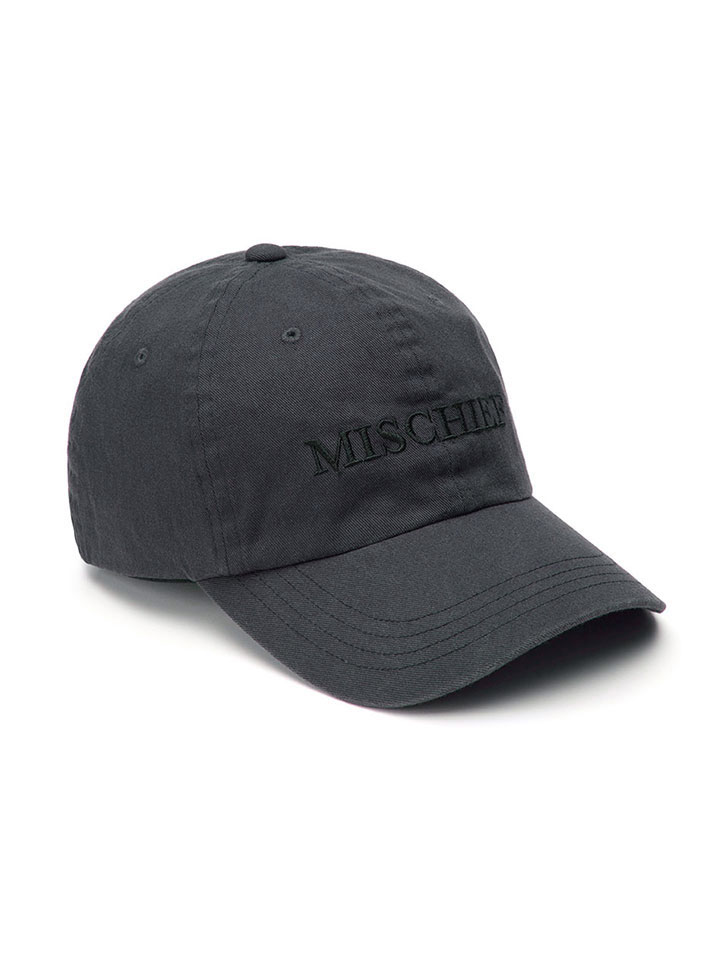 BALL CAP_faded black