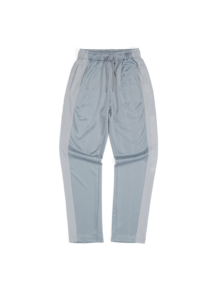 STRIPE TRACK PANTS_gray