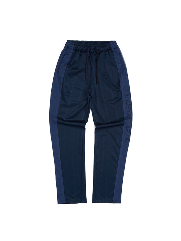 STRIPE TRACK PANTS_navy