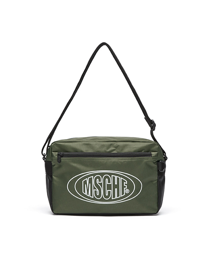 NYLON CROSS BAG_olive