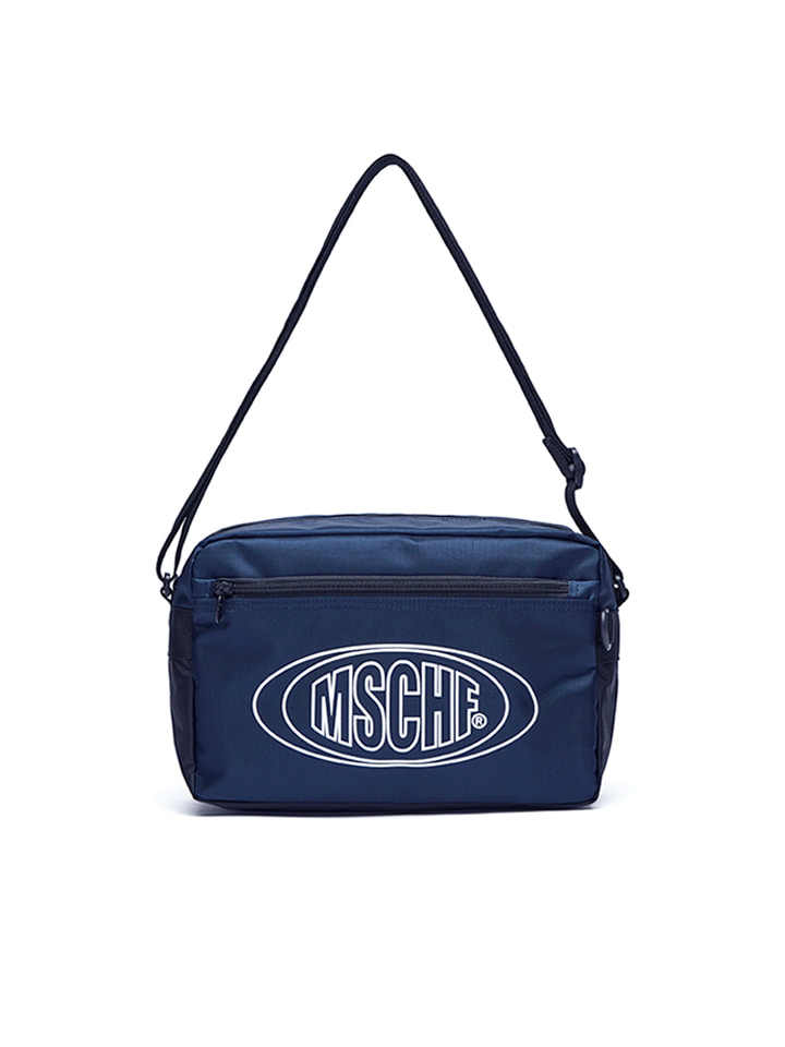 NYLON CROSS BAG_navy