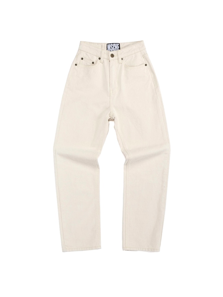 HIGH WAIST PANTS_cream