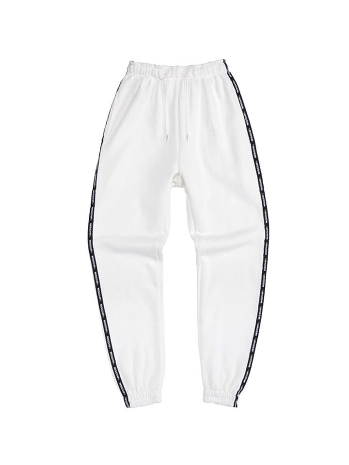 SWEAT PANTS_white