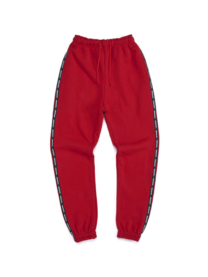 SWEAT PANTS_red