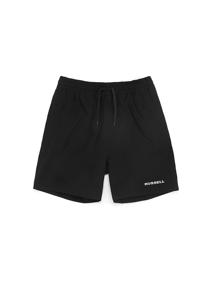 WOVEN GYM SHORTS_black