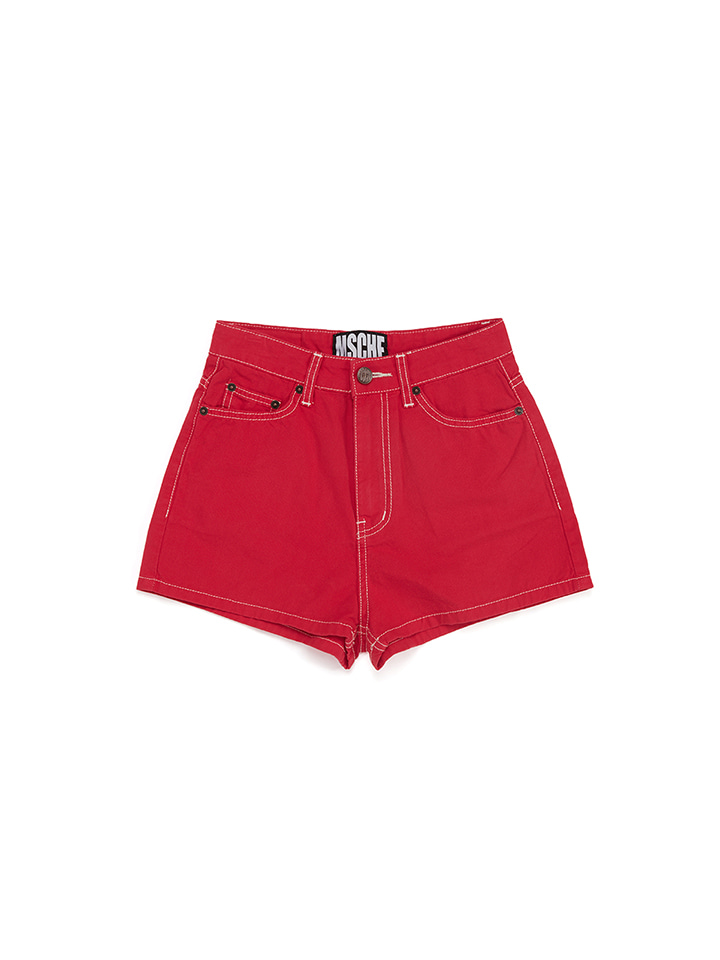 STITCH SHORTS_red