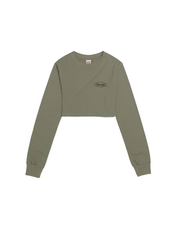 CROPPED PULLOVER_khaki