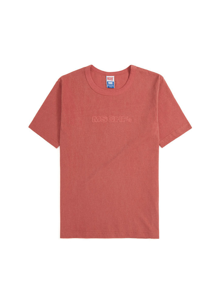 PIGMENT DYED BASIC_faded red