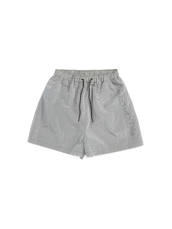 SCOTCH TRAINING SHORTS_silver