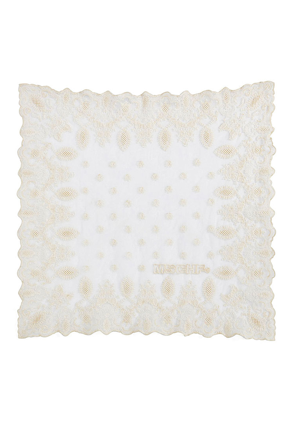 LACE SCARF_ivory