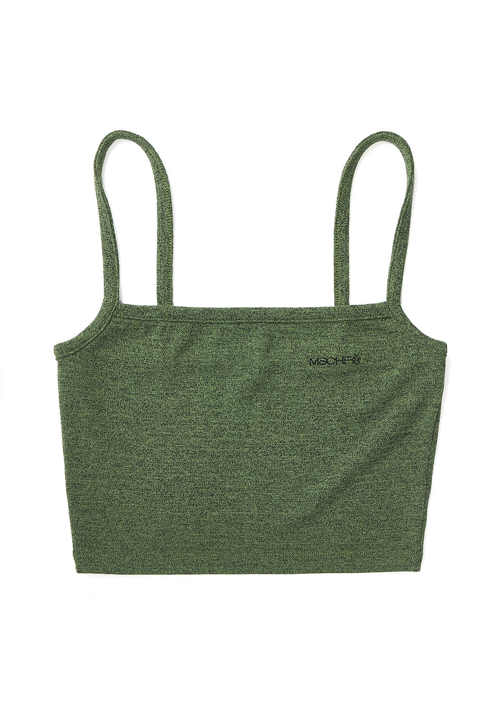 CAMISOLE CROP TOP_green multi