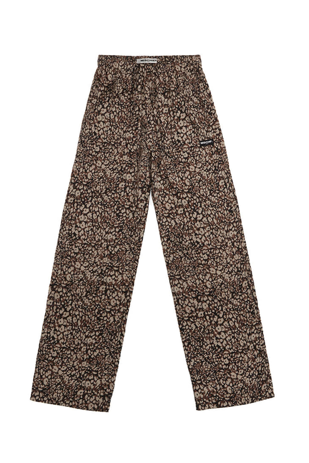 DRAWSTRING TROUSERS_leopard