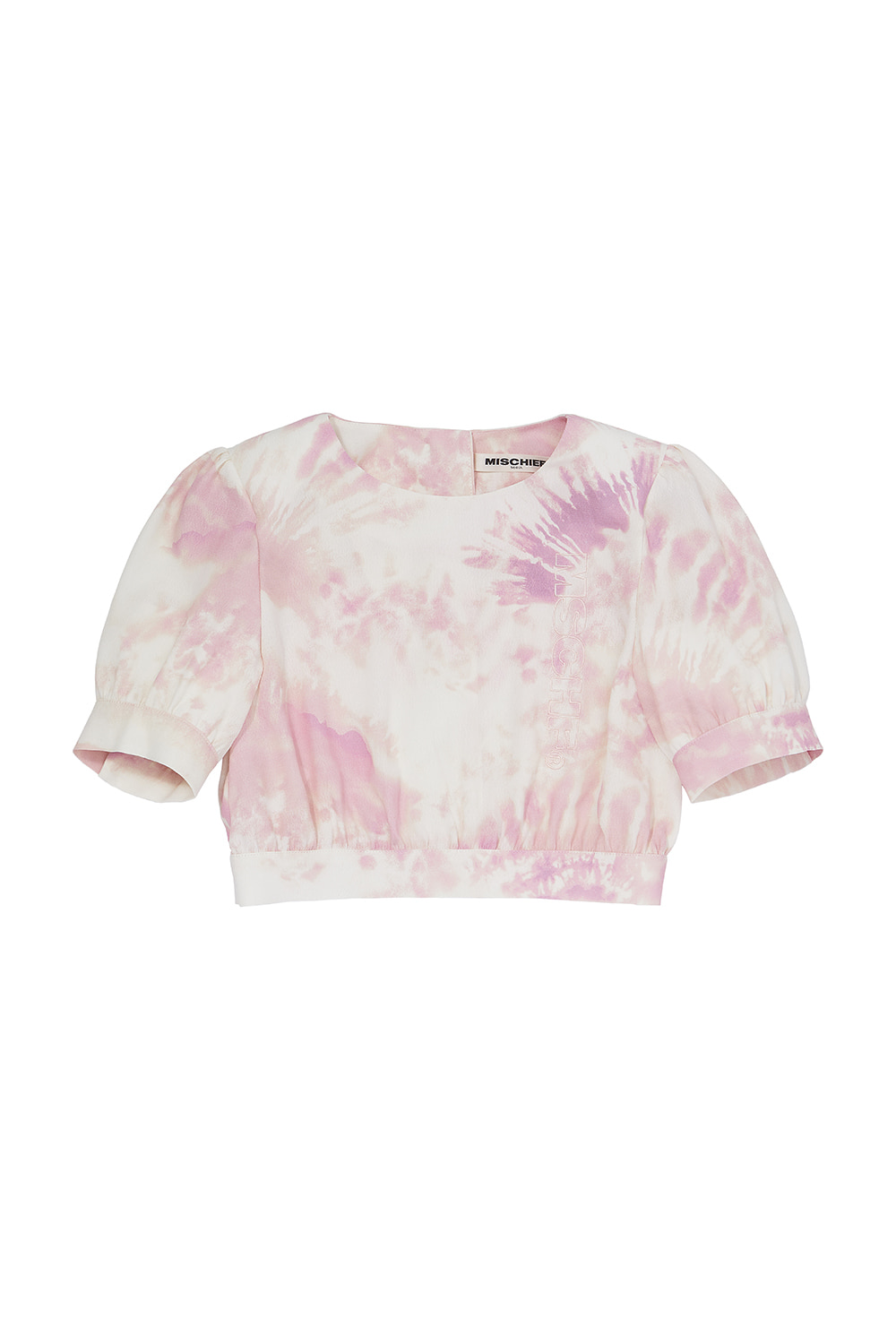 LOOSE CROPPED BLOUSE_pastel pink