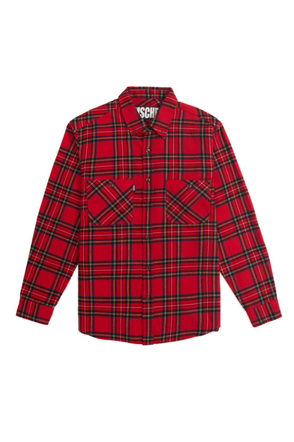 CHECK SHIRT_tartan check red