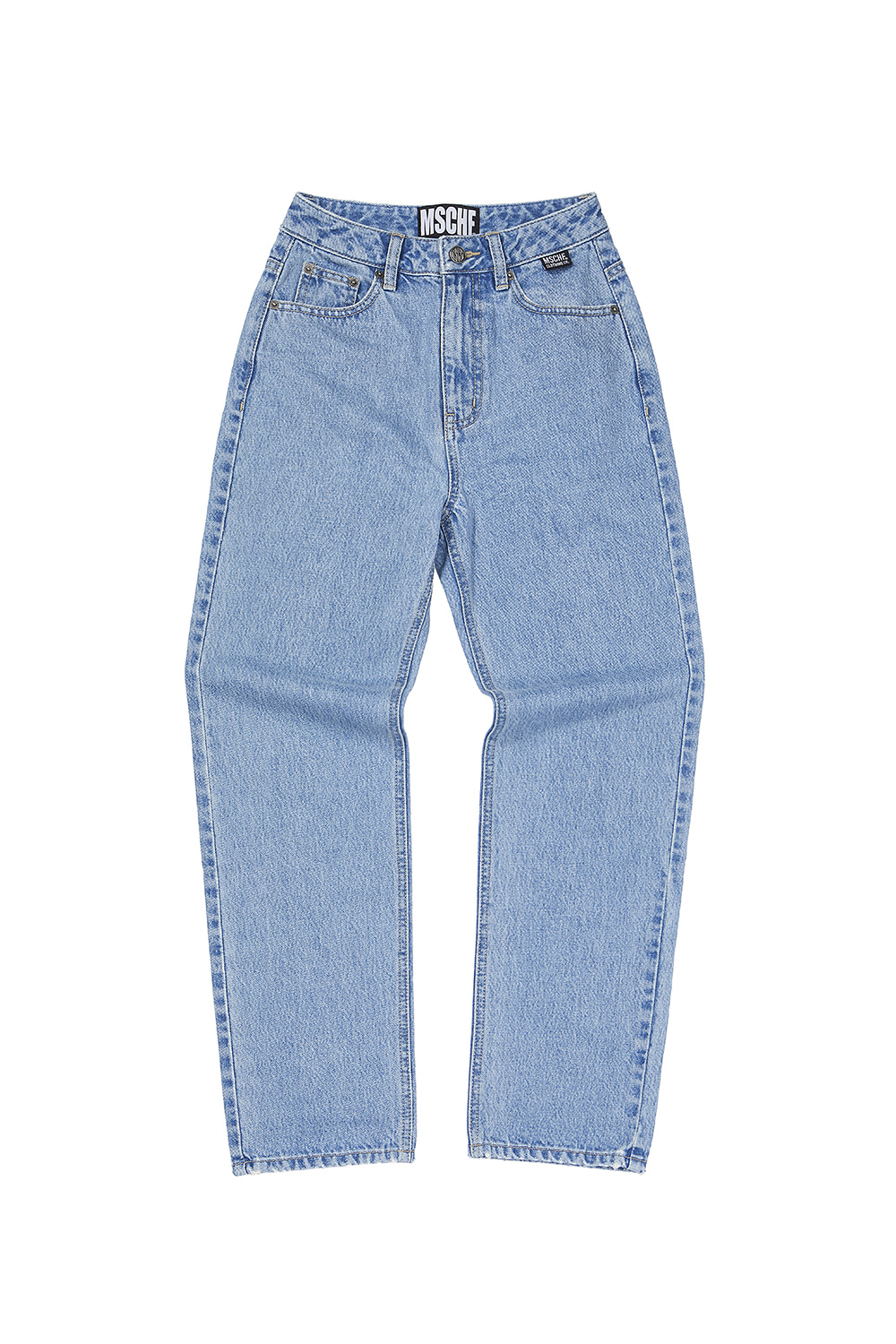 HIGH WAIST PANTS_blue denim