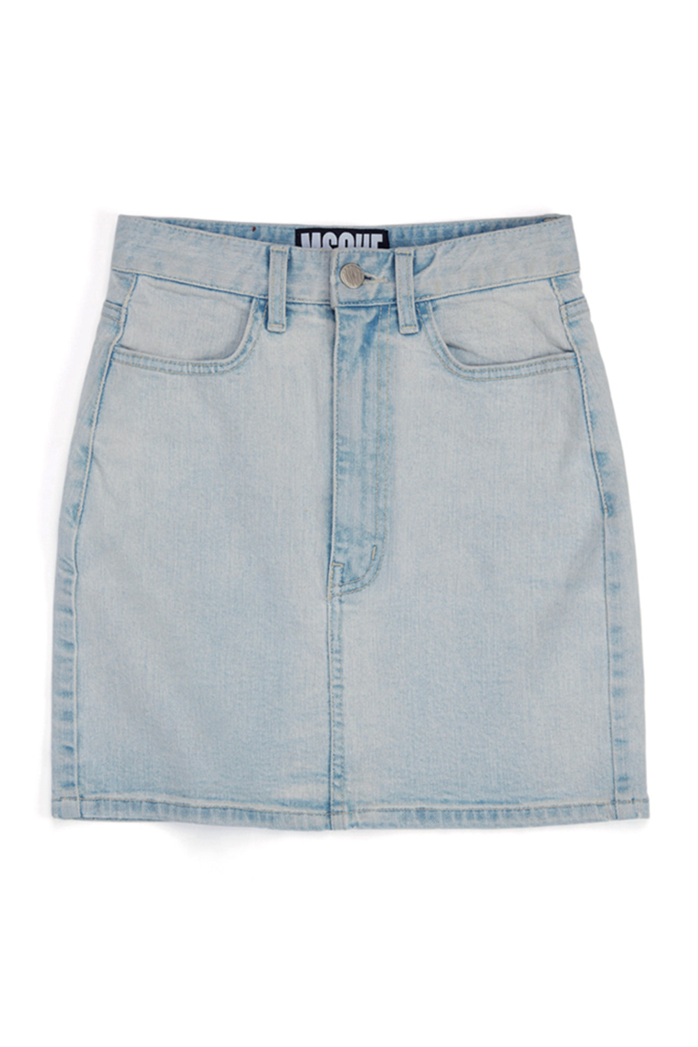 DENIM MINI SKIRT_light blue