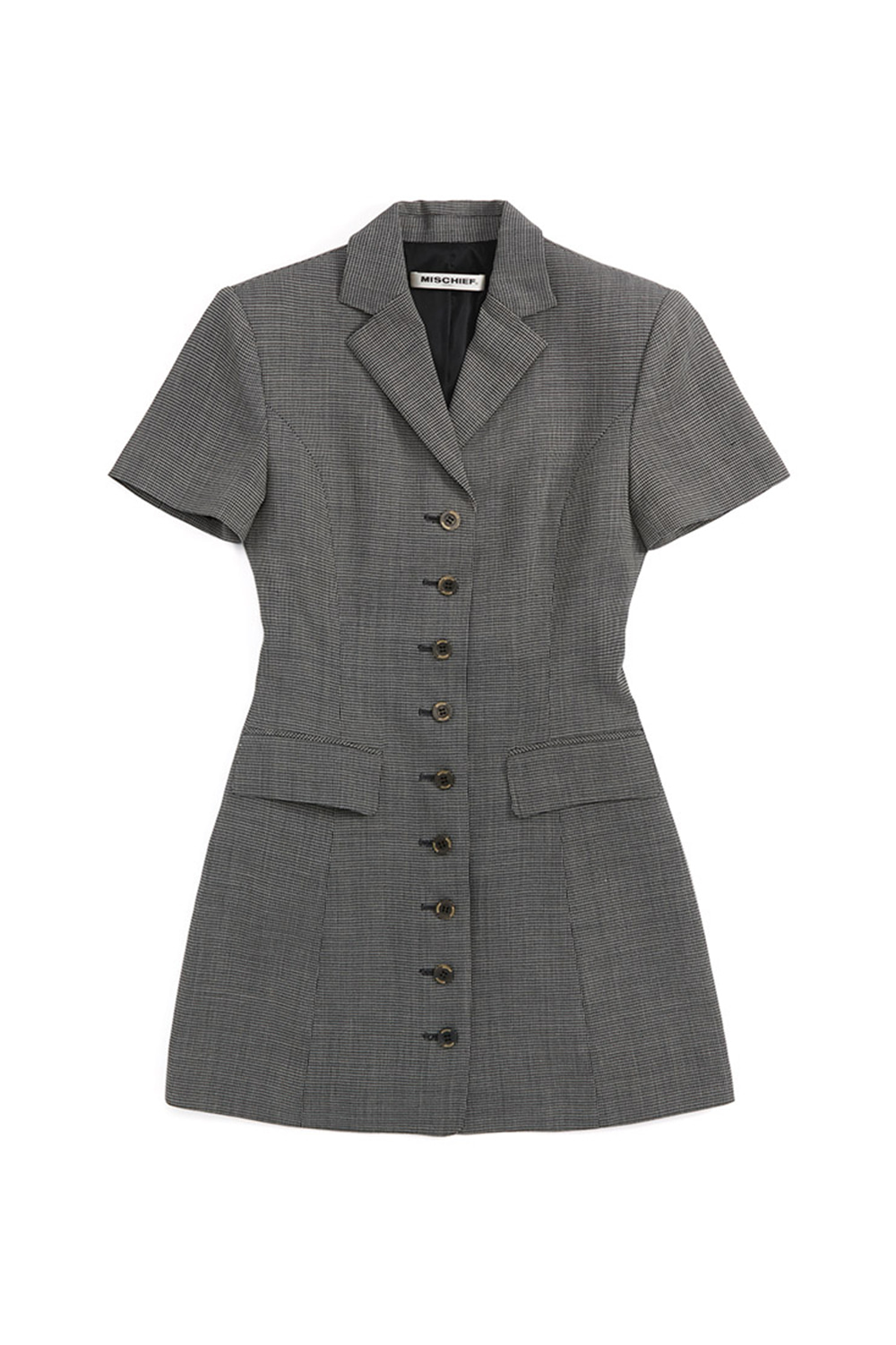 ZOOTIES BLAZER DRESS_black/gray