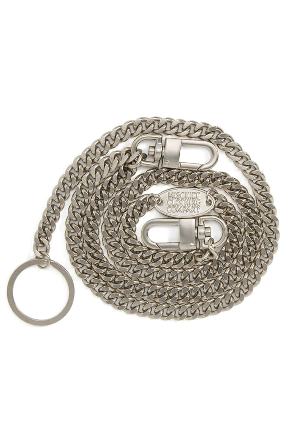 PENDANT CHAIN BELT_silver