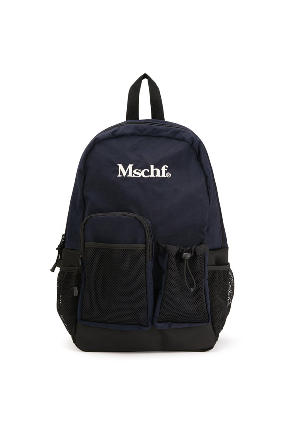 MULTI-POCKET NYLON BACKPACK_navy
