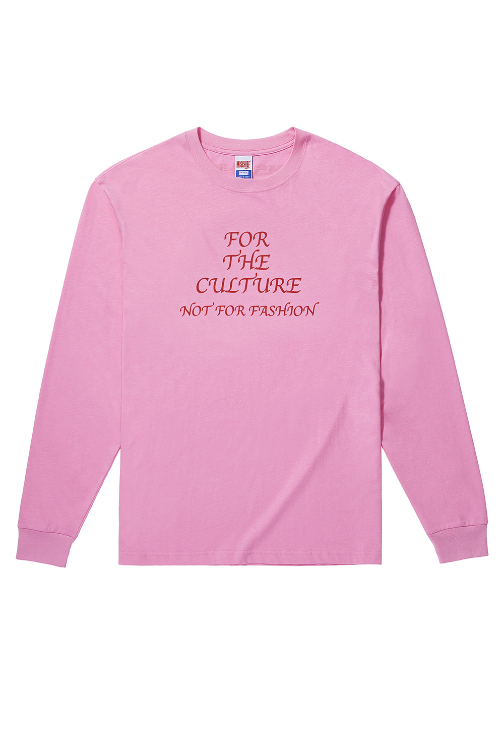 FOR THE CULTURE LONG SLEEVE_pink
